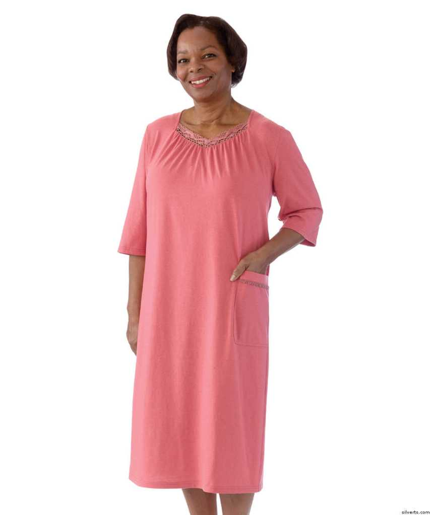 This image depicts a similar version of the Black Friday nightgown that we received at the Williamsburg Prime Outlets shopping event